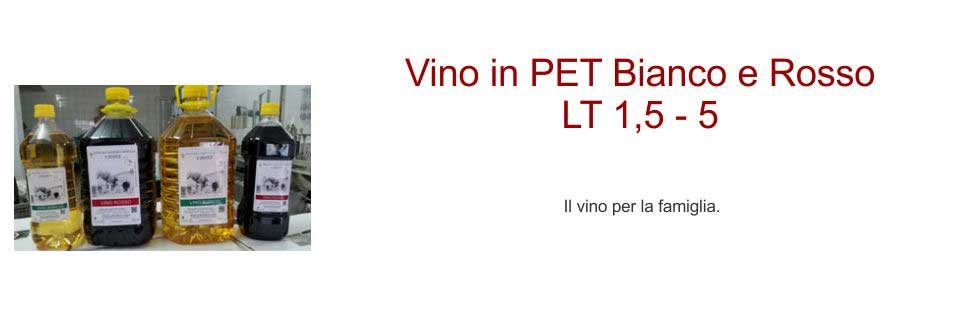 Vini in PET Cimaglia